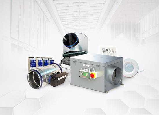Système  VMX - La ventilation modulée pour les bâtiments du tertiaire - Page produits